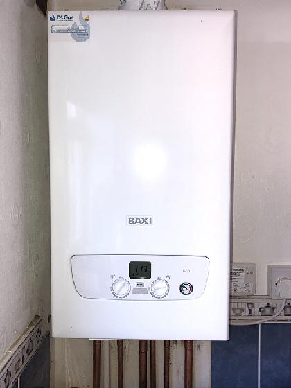 Baxi 600 boiler installation in Harlow
