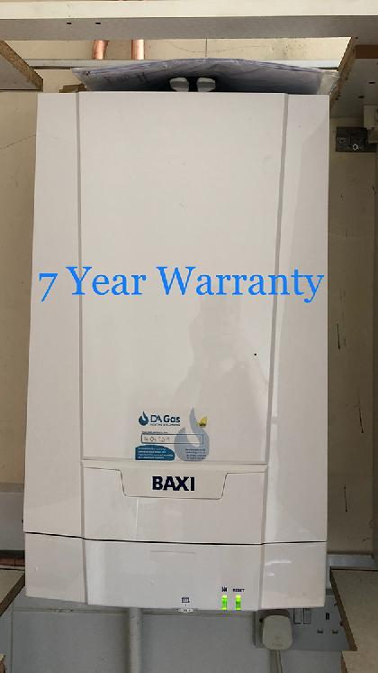 Baxi Ecoblue Advance with 7 year warranty installed in Colchester Essex.