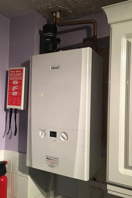 Boiler installation in Harlow